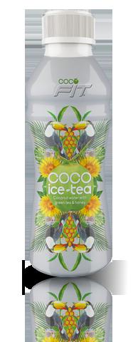 coco icedtea green tea with honey